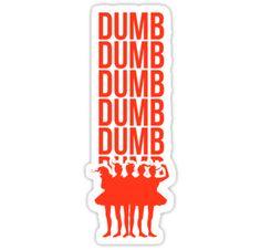 """Mostrar su apoyo a la Red Velvet y su canción """"Dumb Dumb"""", colocándola de este diseño! – ♡ lunación • Also buy this artwork on stickers, apparel, phone cases y more."""