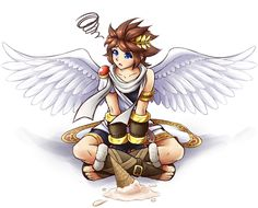 Pit with Ice Cream (Kid Icarus)