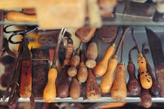 Ashdown leather workshop