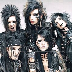 I love them so much I cry about it sometimes. Jake Pitts, Black Viel Brides, Black Veil Brides Andy, Girls Girls Girls, Glam Metal, Nikki Sixx, Andy Biersack, Emo Bands, Music Bands