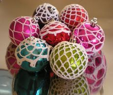 Cheap balls pimped with crochet