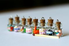 Oreo bottle miniature Anti dust plug for phone kawaii by Zoozim