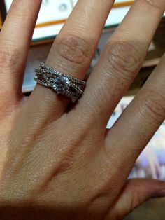 Gorgeous engagement ring FYI: this ring is located at Mcarthur's Jewelers on Main Street in St. Wedding Stuff, Dream Wedding, Wedding Rings, Wedding Inspiration, Wedding Ideas, Best Engagement Rings, Whistles, Diamond Are A Girls Best Friend, Main Street