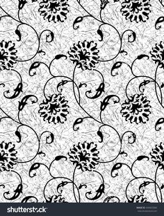 Find Black White Floral Pattern stock images in HD and millions of other royalty-free stock photos, illustrations and vectors in the Shutterstock collection. Black And White Prints, Black White, Non Woven Bags, Textiles, Ribbon Art, Heirloom Sewing, Stock Foto, Simple Art, Geometric Designs