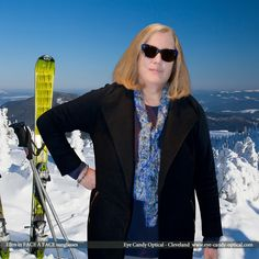 Ellen is ready to hit the slopes in Colorado wearing her new designer sunglasses by Face a Face. Eye Candy eyewear - the most awesome fashion ride of your life! Be who you want to be at Eye Candy Optical! info@eye-candy-optical.com www.eye-candy-optical.com - Book your Eye Exam Today! (440) 250-9191