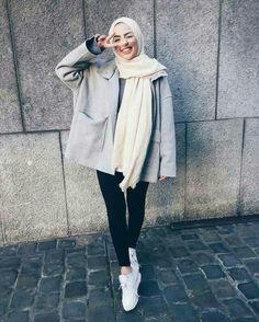H i j a b i s hijab fashion style, fashion muslimah, street hijab fashion, hijab Hijab Casual, Hijab Chic, Casual Outfits, Hijab Fashion Casual, Fashion Muslimah, Grunge Outfits, Classy Outfits, Street Hijab Fashion, Muslim Fashion