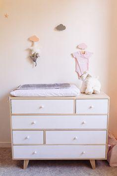 9 meilleures images du tableau Commode chambre bébé ❤ | Nursery ...