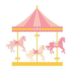 Imágenes Prediseñadas de carrusel caballos por WinchesterLambourne
