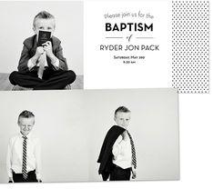 LDS Baptism ideas, mini album, invitations, program and the after party! Lds Baptism Program, Lds Baptism Ideas, Baptism Announcement, Baptism Pictures, Baptism Photography, Baptism Invitations, Invites, Wedding Invitations, Boy Baptism