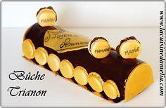 Découvrez la recette Bûche trianon sur cuisineactuelle.fr.