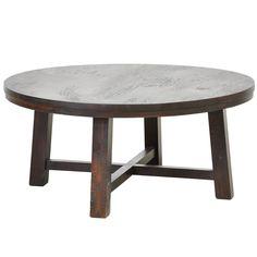 <br><br> <ul>  <li>Materials: Mango Wood </li> <li>Finish: Natural Wood </li> <li>Dimensions:  18 high x 40 wide x 40 length </li> </ul>
