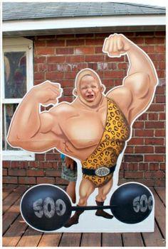 carnival cutout muscles
