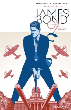 A Writer's Commentary: Kieron Gillen on James Bond Service Special, on sale from Dynamite. Cover by Jamie McKelvie and interiors by Antonio Fuso. The Wicked The Divine, Comic Art, Comic Books, Bond Series, Book Of James, New James Bond, Bond Cars, Cards For Friends, Thriller