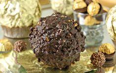 Ferrero Rocher Hazelnut Mousse Cake   From SugarHero.com