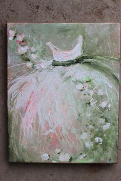 original tutu roses ballerina ballet dress green by fadedwest,
