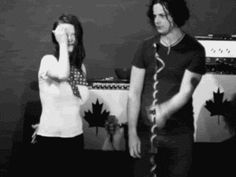 Any time he and Meg did anything at all. | 27 Times Jack White Looked Ridiculously Good