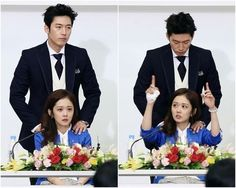 """A Behind-the-Scenes Still Cut for """"Fated to Love You"""" Makes Viewers Smile /// emaneeee,,, ahjussie keren #padahalbetisamaSJS"""
