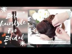 Beautiful Bridal Hairstyles Tutorial With High Bun. Subscribe to the channel for more videos of wedding   prom hairstyles for long hair. In my video tutorials, you ... Bold Hair Color, Hot Hair Colors, Hair Color For Women, Ponytail Hair Extensions, Ponytail Extension, Trending Hairstyles, Girl Hairstyles, Bridal Hairstyles, Curly Hairstyle