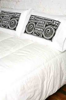 Boombox Pillow Cases