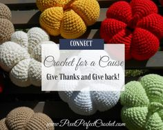 November is a great month to give thanks, and give back! Crocheters of all levels help make a difference with these inspiring crochet causes!