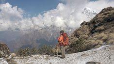 Hiking in Nepal: Mardi Himal Trek, Annapurna Region, Nepal.