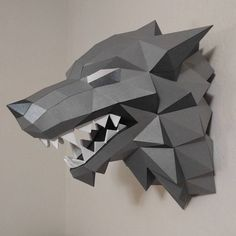 """55 Likes, 13 Comments - Kelly Guysir (@jumkelly) on Instagram: """"DONE! But I have more plans for this wolf... so to be continued :) #starksigil #stark #direwolf…"""""""