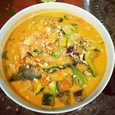 Weeknight Thai style curry