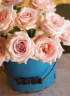 Brabourne Farm: Beautiful Flowers + Blue Things