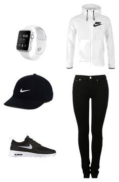 """""""Untitled #4"""" by antoni-huggins on Polyvore featuring MM6 Maison Margiela and NIKE"""