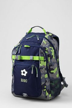 Print ClassMate® Large Backpack from Lands' End