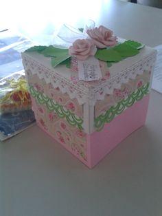 Explosionsbox für eine Kollegin zum Geburtstag