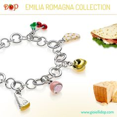 Discover #gioiellidop Emilia Romagna Collection. Sterling Silver and Enamels Costume Jewelry, entirely handmade in Italy. Create your favorite recipe