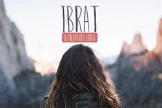 Introducing Ibrat . A handmade calligraphy, rough font with tons of character. Every character in this font was hand crafted with calligraphy pen to g...