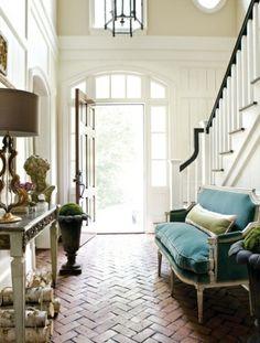 elegant entryways via lamb & blonde