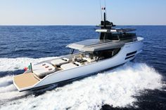The Italian shipyard Arcadia Yachts presents the spectacular looking Arcadia Sherpa - A 17m motor yacht. Arcadia has a focus on eco-friendly yachts.