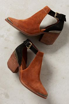 Jeffrey Campbell Woodruff Cutout Ankle Booties  #anthropologie #booties #campbell