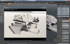 ArtStation - Index_011 spaceship, Vaughan Ling