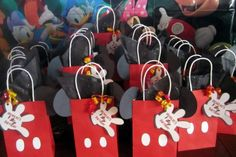 Mickey Mouse Goody bags!