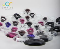 Dekoratif hücre tabaklar Plate fusion glass art, glass plate , black , decoration ,