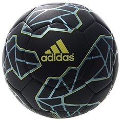 adidas Performance Messi Q3 Soccer Ball, Black/Bright Yel...