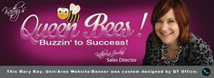 Mary Kay® Sales Director, Katherine Jordan. Queen Bees. This Mary Kay® Unit/Area Website/Banner was custom designed by http://www.qtoffice.com