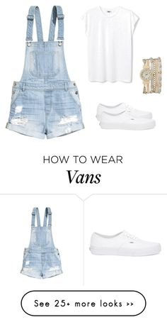 """Bez naslova #21"" by segmedina on Polyvore featuring H&M, Vans and maurices"