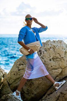 yulia lobova by michelle du xuan for harper's bazaar poland july 2014 | visual optimism; fashion editorials, shows, campaigns & more!