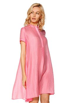 Pink Tencel Dress