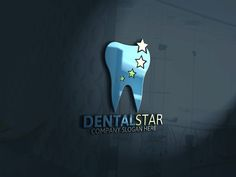Dental Logo Template by Josuf Media on @creativemarket