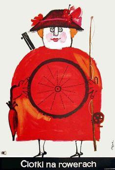 Jerzy Flisak, Ciotki na rowerach