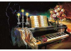 Папертоль «Романтика» Объемный декупаж, объемная картина из бумаги, картина из бумаги, вырезание, 3D-изображение - Zvetnoe.ru - картины по номерам, картина по цифрам, раскраски по номерам