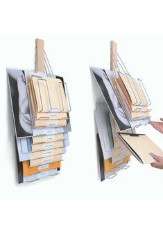 Up Filer Original Vertical Filing Rack Hanging Wall File
