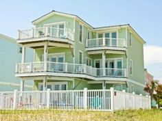 *Emerald Isle House Rental: Home Away *Oceanfront *6 bedrooms *$7,868 (with linens, cleaning and taxes) - Aug 9th (pool is kinda small)