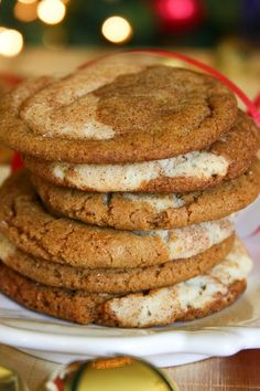 Gingerdoodles (Or Snickersnaps!)...the new best Christmas cookie ever!?